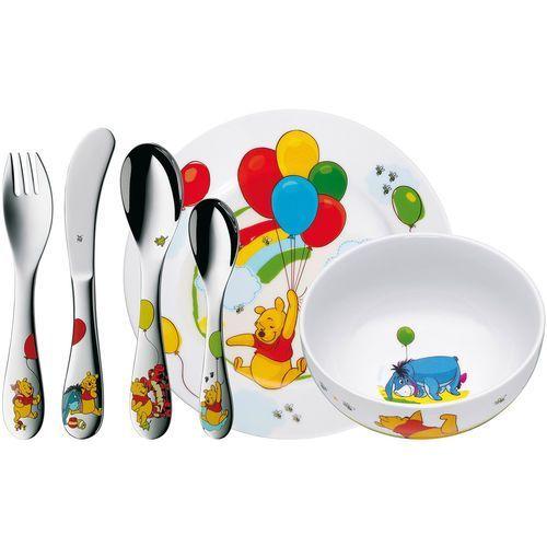 Zestaw naczyń plus sztućce dla dzieci Kubuś WMF 6 elementów (1283509964) (4000530691293)