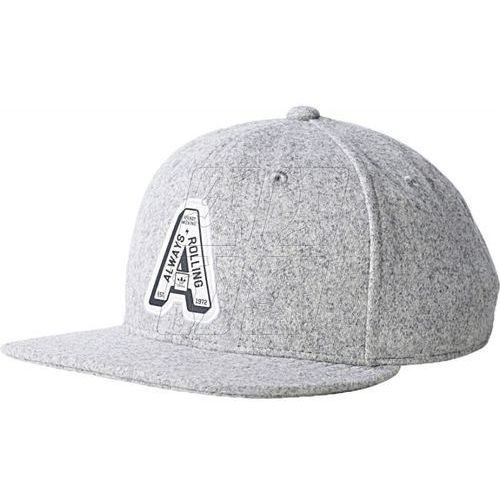 Czapka z daszkiem adidas ORIGINALS Outfielder Hat AZ6094, kolor szary