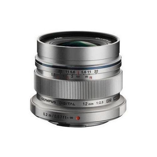 Olympus m.zuiko digital ed 12mm f/2 (srebrny) - przyjmujemy używany sprzęt w rozliczeniu | raty 20 x 0%