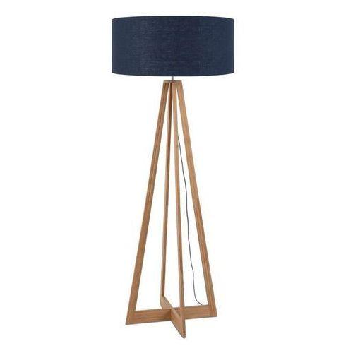 Good & mojo Everest-lampa podlogowa bambus & len naturalny wys.127cm (8716248074636)