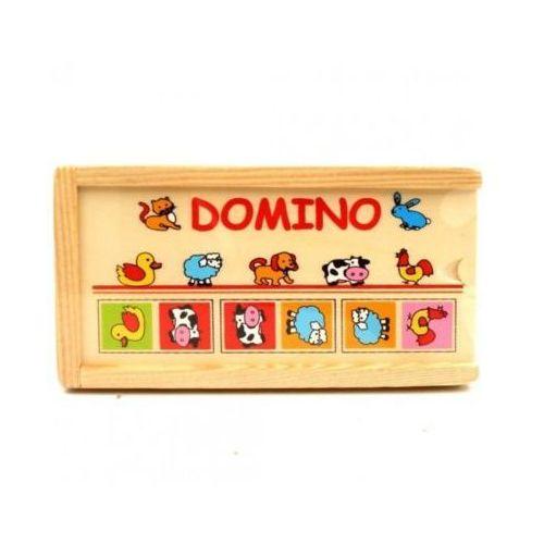 Drewniane domino - zwierzęta marki Brimarex