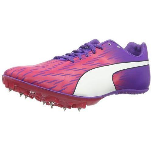 evospeed sprint 7 obuwie do biegania startowe sparkling cosmo/electric purple/white marki Puma