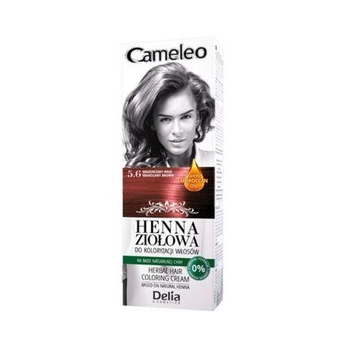 DELIA Cameleo 5.6 Mahoń brąz Henna ziołowa do koloryzacji włosów
