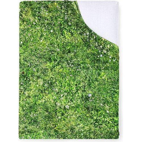 Foonka Prześcieradło z gumką hayka alpejska łąka 200 x 220 cm
