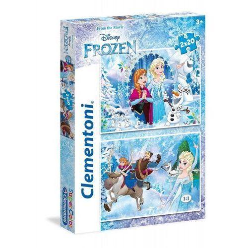 OKAZJA - Clementoni 2x20 elementów frozen (8005125070305)