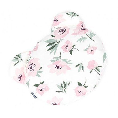 Poduszka Miś Kwiaty na Ecru