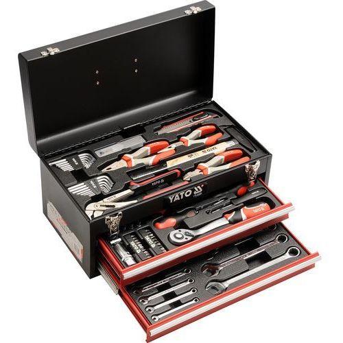Zestaw narzędzi yt-38951 ze skrzynką (80 elementów) marki Yato