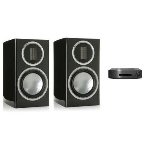 Zestawy Cambridge audio cxa60 + monitor audio gold 50