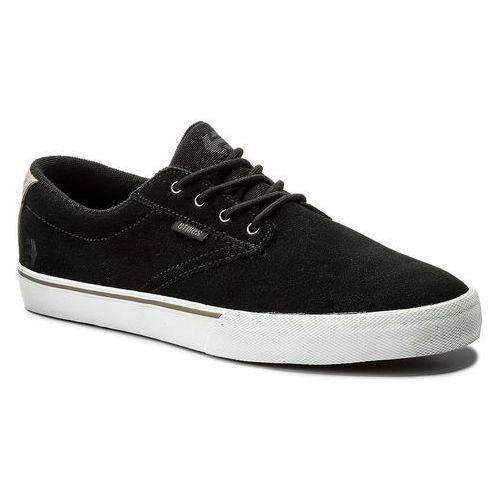 Tenisówki ETNIES - Jameson Vulc 4101000449 Black/White/Silver 983, kolor czarny