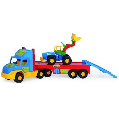 Lora transportowa + spychacz super truck  77,5 cm od producenta Wader