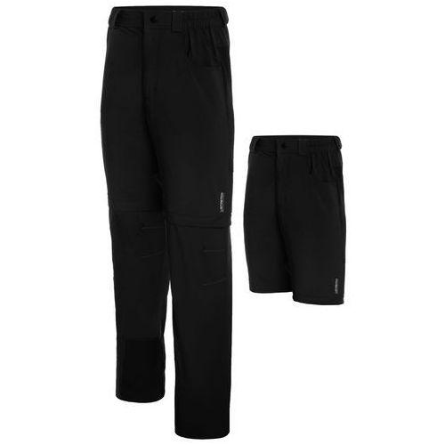 Męskie spodnie trekkingowe 2w1 oregon 900/21/8631/09 czarny xxl marki Viking