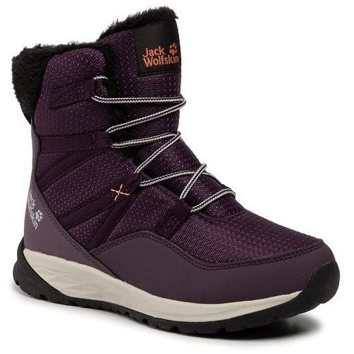 Śniegowce JACK WOLFSKIN - Polar Wolf Texapore High K 4036151 Purple/Off White