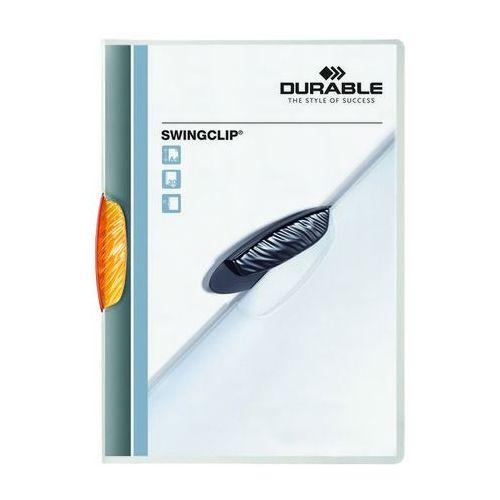 Durable Skoroszyt zaciskowy swingclip pomarańczowy a4/30k.