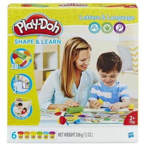 Hasbro Playdoh literki i mowa - (5010993395415)
