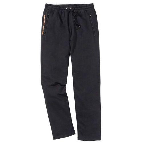 Spodnie sportowe Regular Fit bonprix czarny