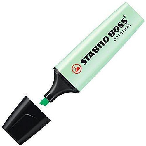 Zakreślacz boss 70/116 pastelowy zielony marki Stabilo