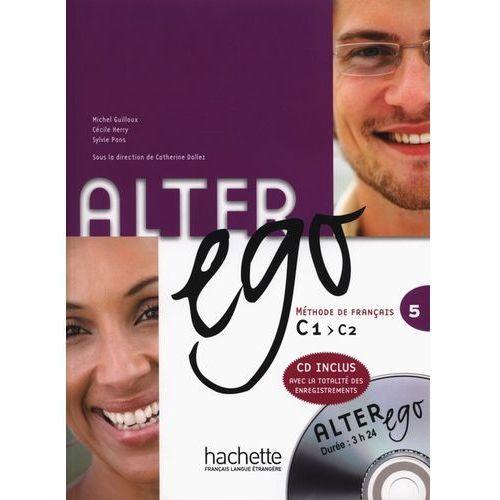 Alter Ego 5 Książka Ucznia + Cd, oprawa miękka