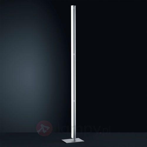 Helestra venta lampa stojąca led nikiel matowy, chrom, 1-punktowy - nowoczesny - obszar wewnętrzny - venta - czas dostawy: od 2-4 dni roboczych (4022671999922)