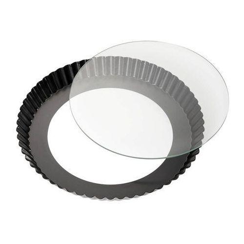 Kuchenprofi - Forma do tarty ze szkalnym dnem, ⌀ 28,00 cm, 0810291028