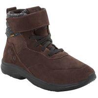 Buty sportowe dla dzieci CITY BUG TEXAPORE MID K dark brown / black - 34, kolor brązowy