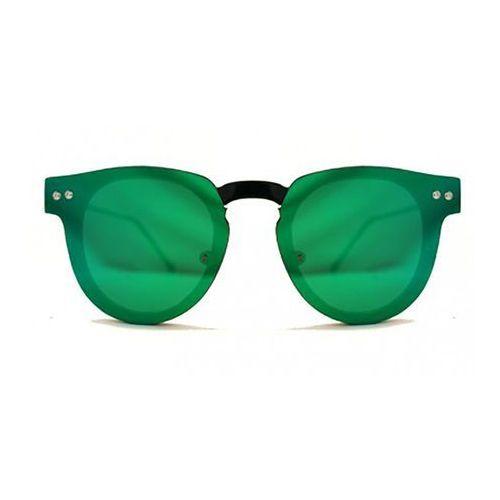 Spitfire Okulary słoneczne sharper edge black/green mirror