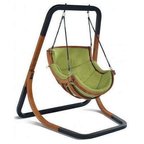 Producent: elior Zielony fotel wiszący huśtawka - pasos 2x
