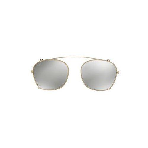 Okulary Słoneczne Persol PO3007C Clip-On only 905/6G, kolor żółty