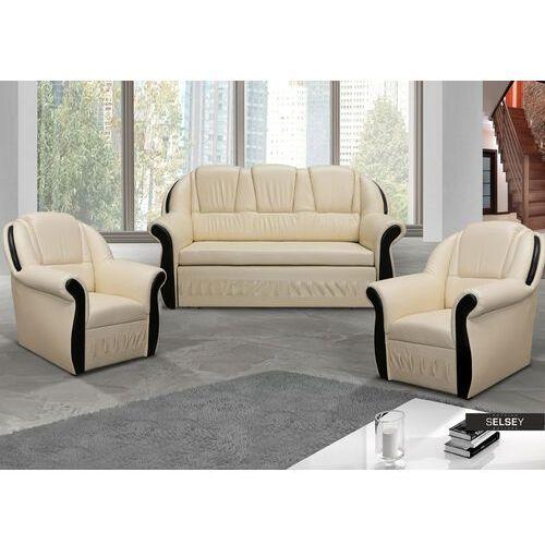 Selsey komplet wypoczynkowy alavara kanapa i dwa fotele (5903025384597)