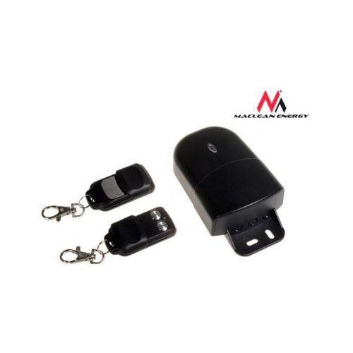 Maclean Sterownik radiowy 2 kanały 2 piloty do alarmu, garażu Maclean MCE89 stały kod, częstotliwość 433,92Mhz zewnętrzny, MOMCLSNMACMCE89 (2458778)