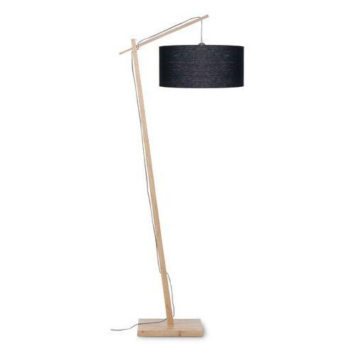 lampa podłogowa andes, czarny abażur w rozmiarze 47x23 andes/f/4723/b marki Good&mojo