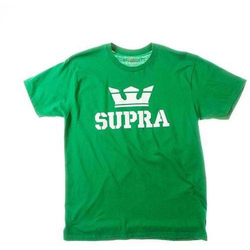 Koszulka - above regular ss tee green/white-wht (366) rozmiar: l marki Supra