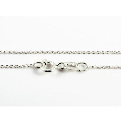 Srebrny (925) łańcuszek ANKIER 45 cm