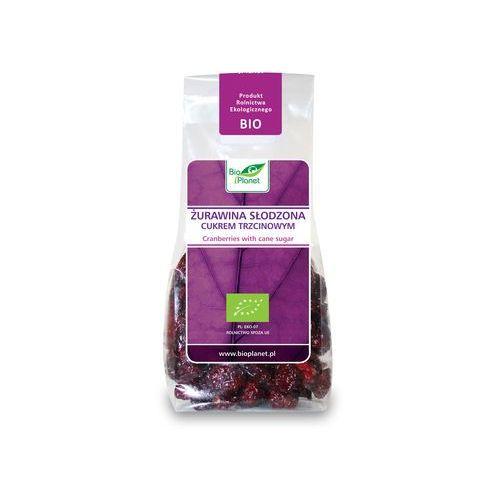 Bio Planet: żurawina słodzona cukrem trzcinowym BIO - 100 g (bakalie)