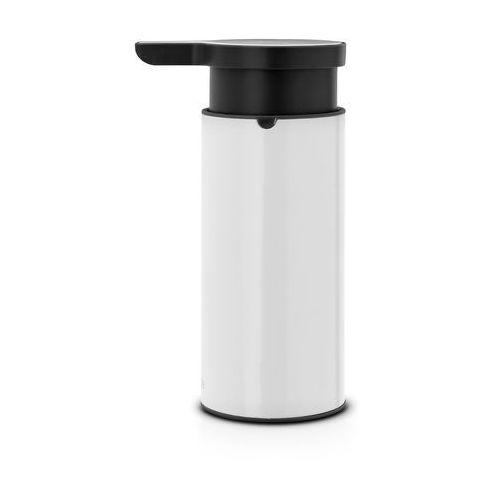 Dozownik do mydła w płynie Brabantia stal biała (8710755108181)