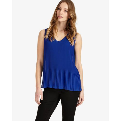 Phase eight  ella pleated sleeveless blouse
