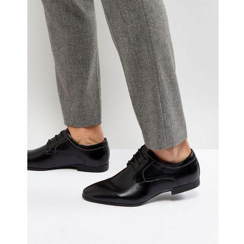 derby shoes in black - black marki New look