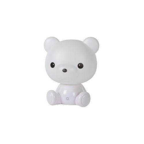 Lucide 71590/03/31 - led lampka nocna dziecięca dodo led/3w/230v niedźwiedź bialy