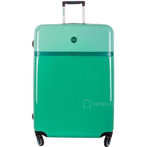 tri colors walizka lekka duża podróżna 77 cm / secret garden - secret garden marki Bg berlin