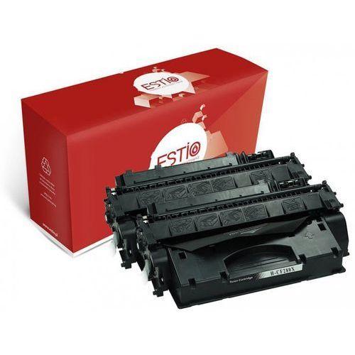 Dwupak tonerów do hewlett-packard (hp) laserjet pro 400 m401a, pro 400 m425 cf280xd e-t80xd marki Estio