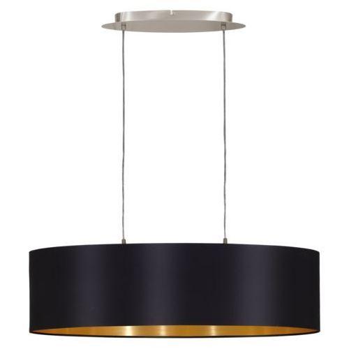 Lampa wisząca maserlo 2x60w e27, śr:78cm 31611 marki Eglo