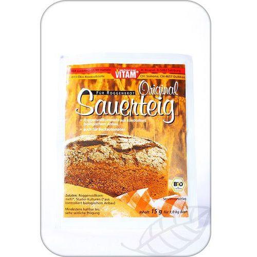 Vitam: zakwas chlebowy BIO - 15 g (4011437040763)