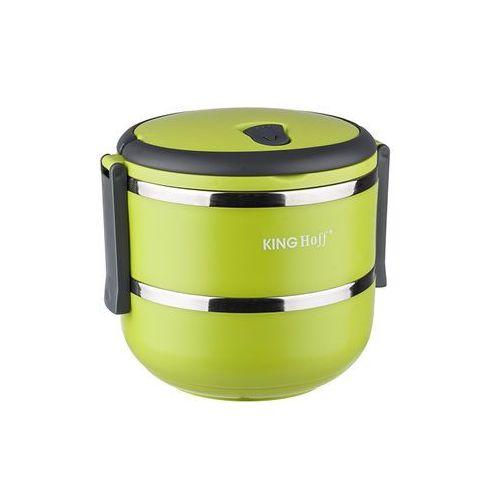 Kinghoff pojemnik na lunch, termos obiadowy 1.4 l - mix kolorów marki King hoff