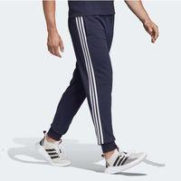 Spodnie bawełniane męskie tapered pant ft cuffed du0478, Adidas