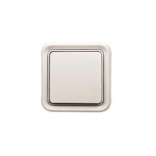 Łącznik schodowy komplet podtynkowy plexo55 069851 biały marki Legrand