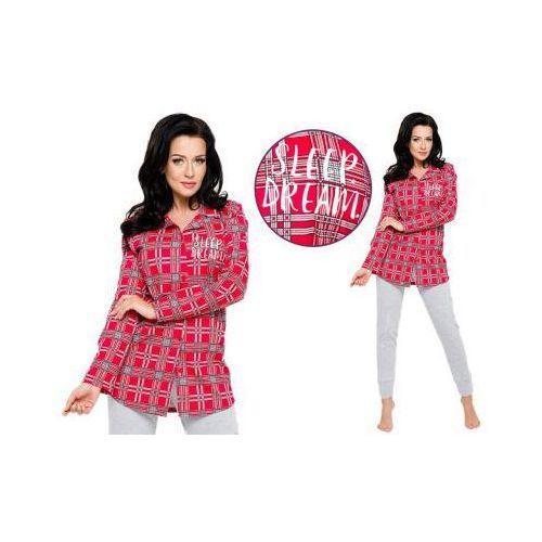 Piżama damska dalia: czerwony marki Taro