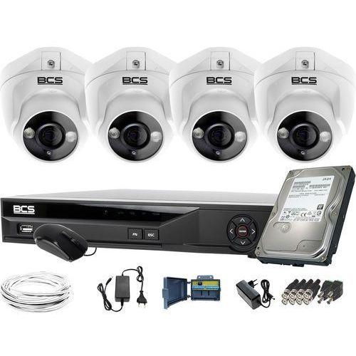 Bcs Zm11974 do rozbudowy monitoring 4 kamery -dmqe1500ir3-b bcs-xvr08014ke-ii 1tb