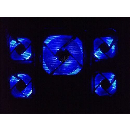 Aab cooling nc45 podstawka pod laptopa czarna