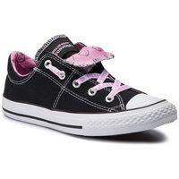 Converse Trampki - ctas maddie slip 664636c black/prism pink/white