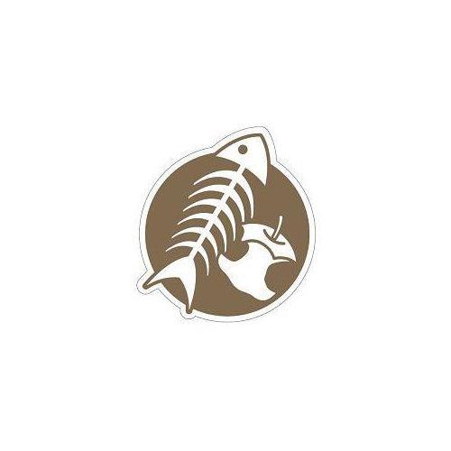 Piktogram na kosz do segregacji brązowy- odpady organiczne marki Splast