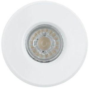 Oczko LAMPA sufitowa IGOA 94977 Eglo OPRAWA podtynkowa SPOT metalowy wpust LED 3,3W komplet 3 szt. IP44 biały
